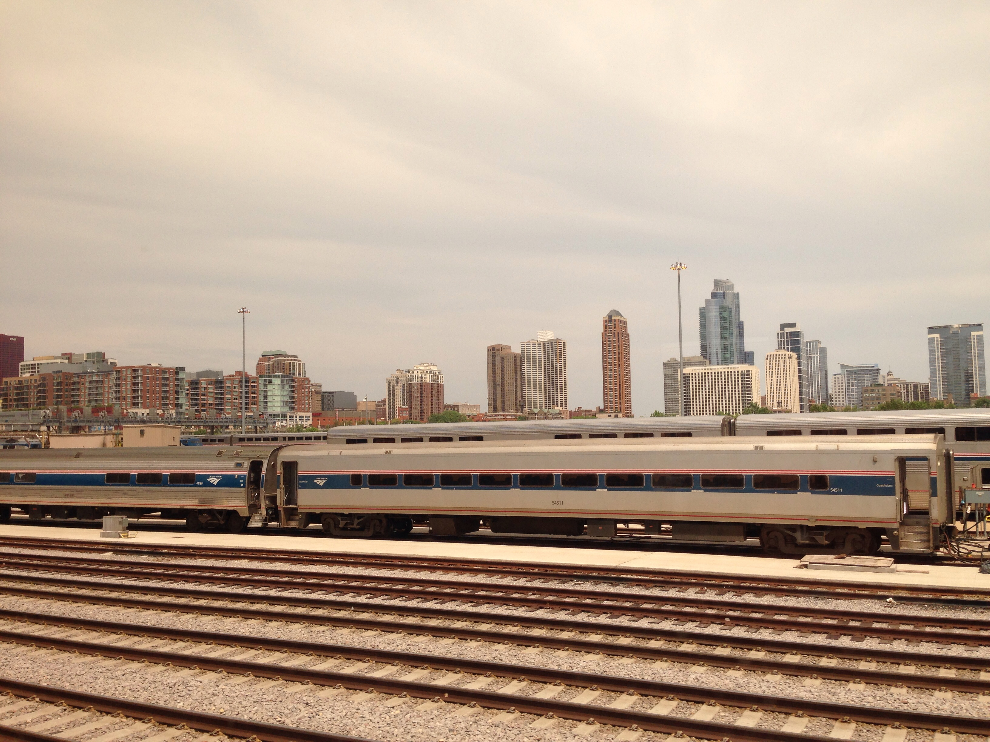 USA Amtrak chicago