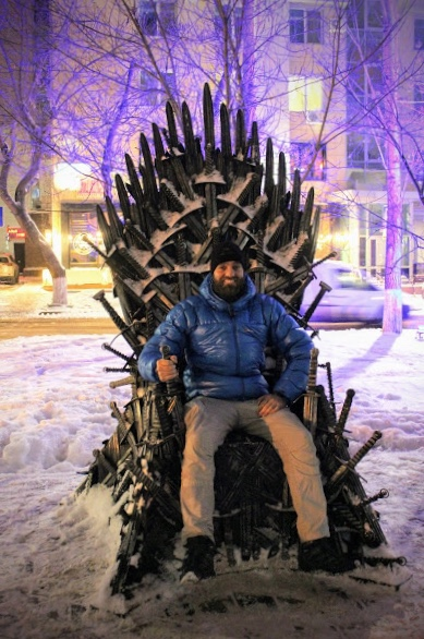 Jmac on the throne