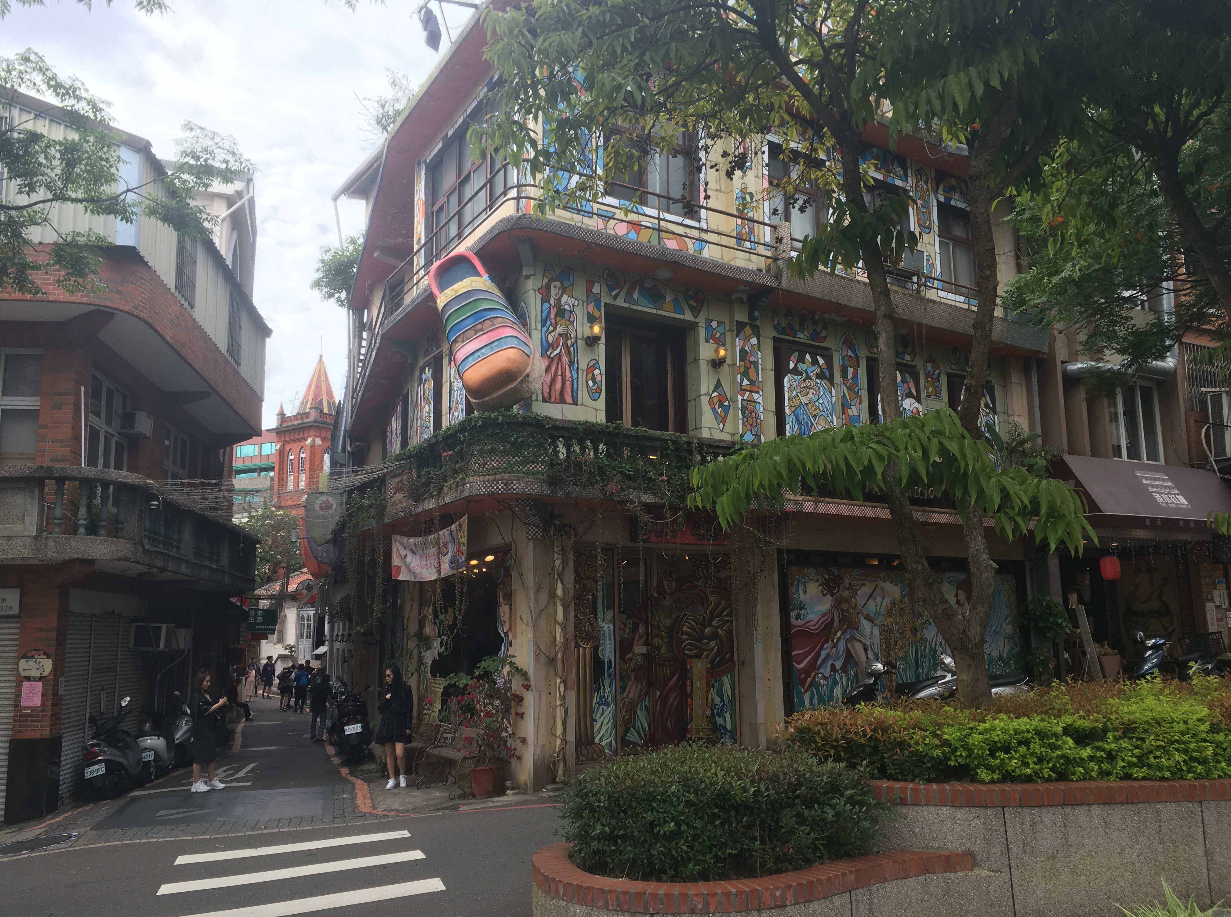Tamsui historic area