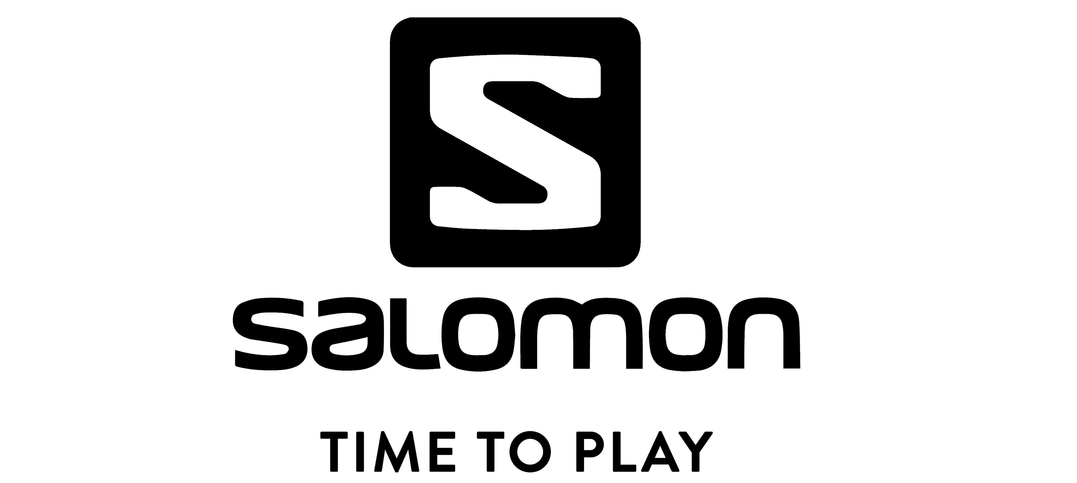 logo Salomon time to play BLACK 2